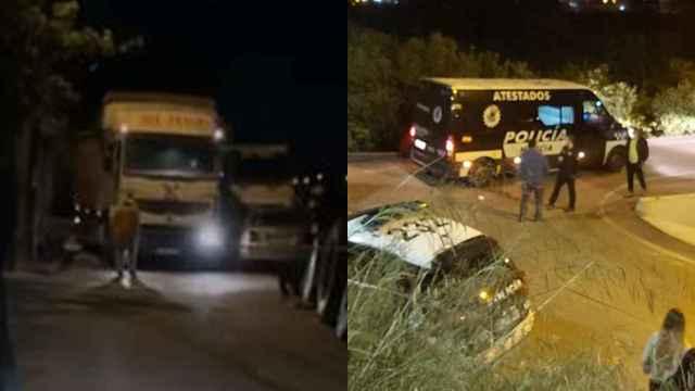 Un niño de 16 meses se escapa de casa y muere aplastado por un camión de 26 toneladas en Murcia