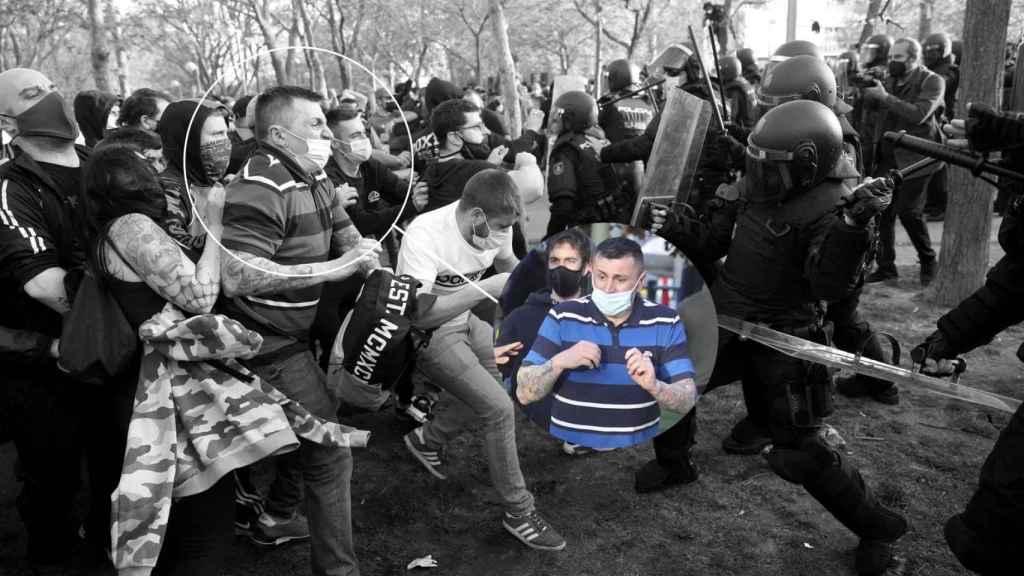 Alberto R.R., detenido durante los disturbios y trabajador de Podemos.