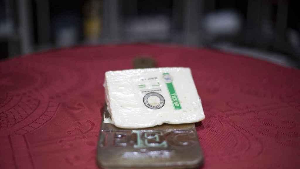 La cuña de queso tierno de El Cencerro, la marca blanca de Dia.