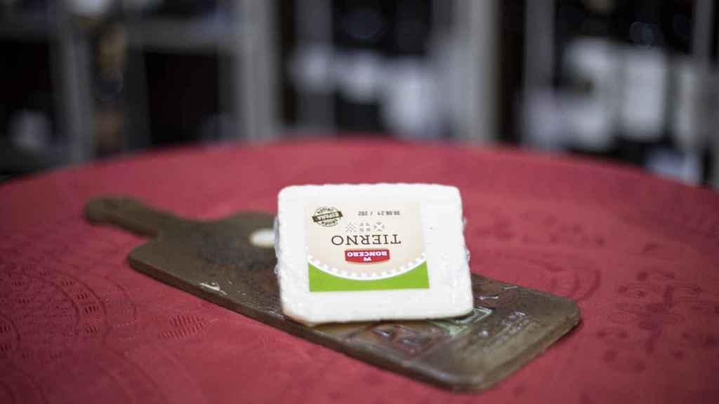 La cuña de queso tierno de Roncero, la marca blanca de Lidl.