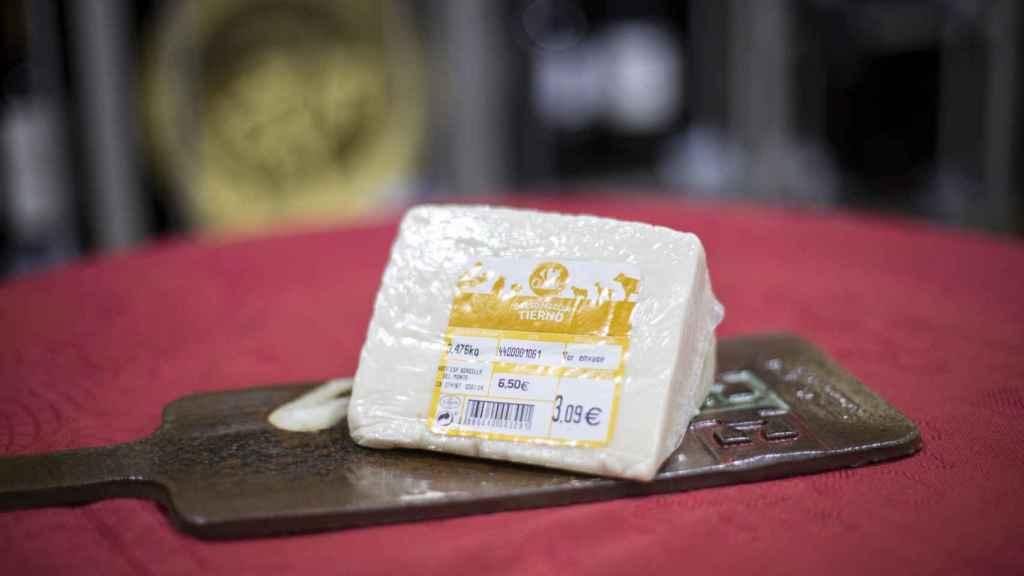 La cuña de queso tierno de Carrefour.