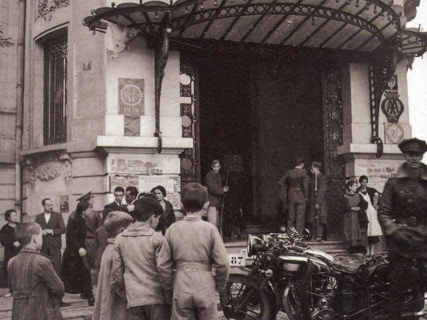 El Palace durante la guerra civil