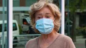Mila Ximénez, en medio de una de sus visitas al hospital.