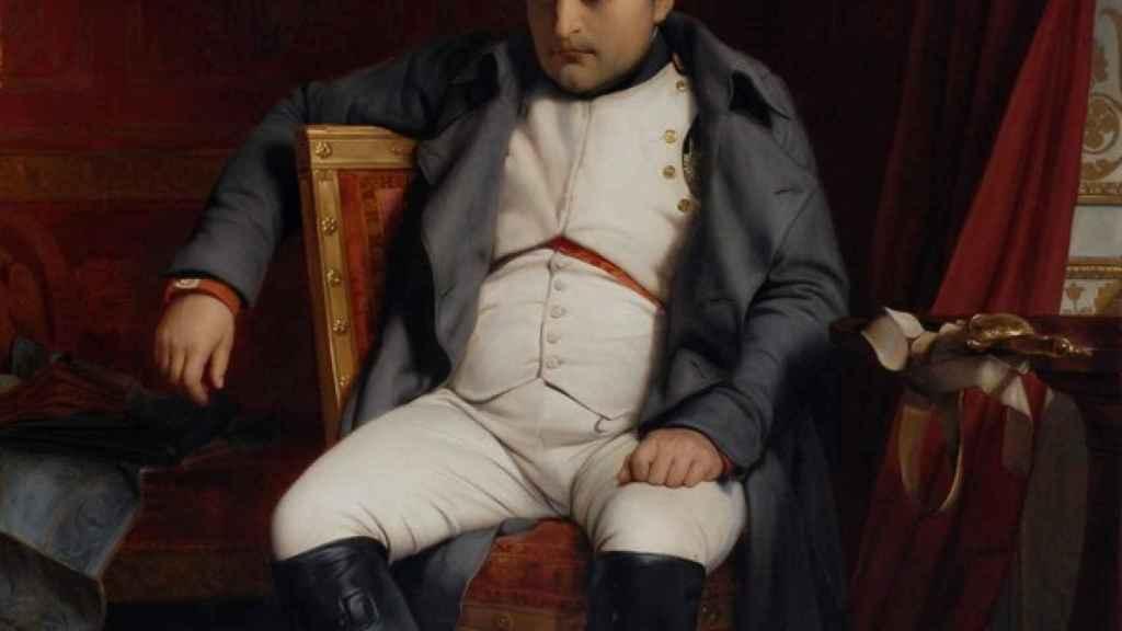 'Abdicación de Napoleón en Fontainebleau', por Paul Delaroche.