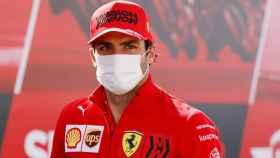 Carlos Sainz en el Gran Premio de Portugal