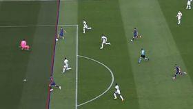 Gol anulado por el VAR a Luis Suárez por fuera de juego