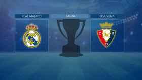 Streaming en directo | Real Madrid - Osasuna (La Liga)