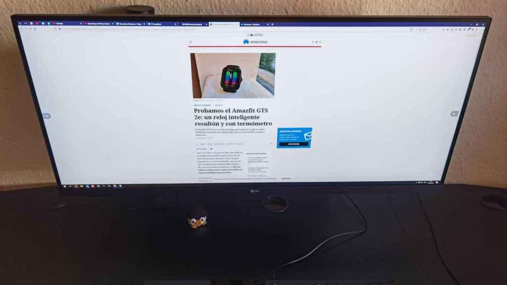 Usar el monitor LG Ergo se traduce en una gran experiencia con el ordenador