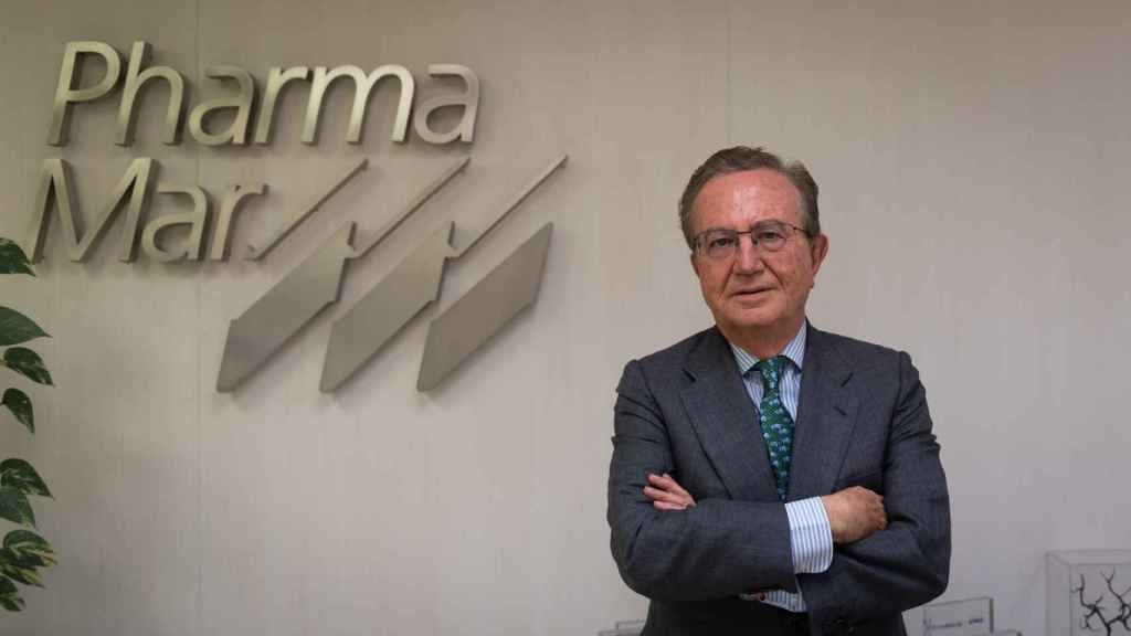 José María Fernández Sousa Faro, presidente de PharmaMar, en la sede de la compañía. (Beatriz Donlo)