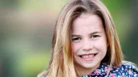 La princesa Charlotte, en una imagen compartida por la Familia Real británica.