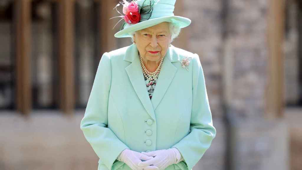 La reina Isabel II, durante un acto en Windsor.