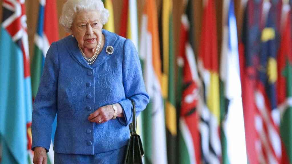 La reina Isabel el Día de la Commonwealth, en Windsor.
