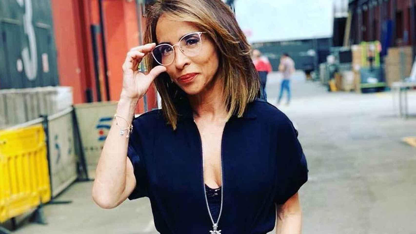 María Patiño, en una imagen de sus redes sociales.