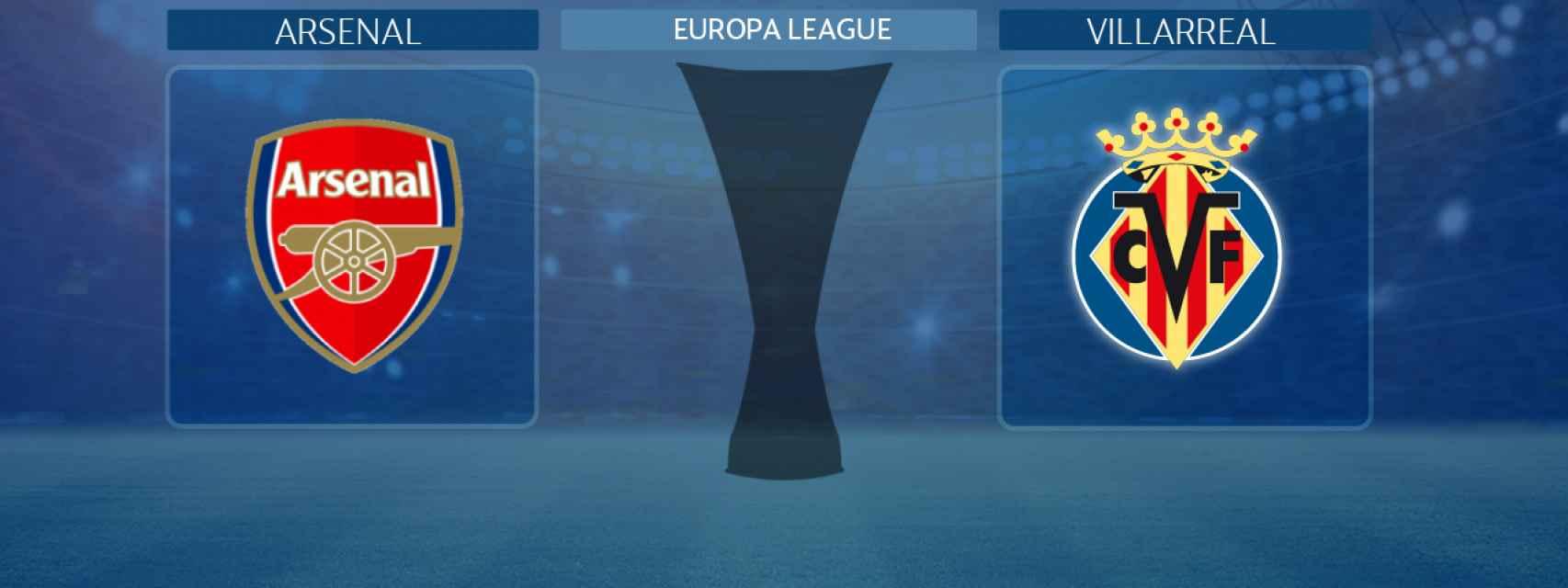 Arsenal - Villarreal, partido de la Europa League