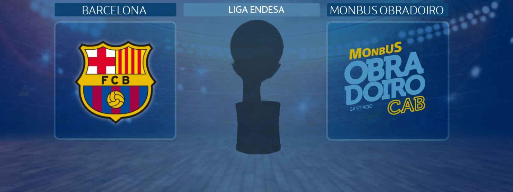 Barcelona - Monbus Obradoiro, partido de la Liga Endesa
