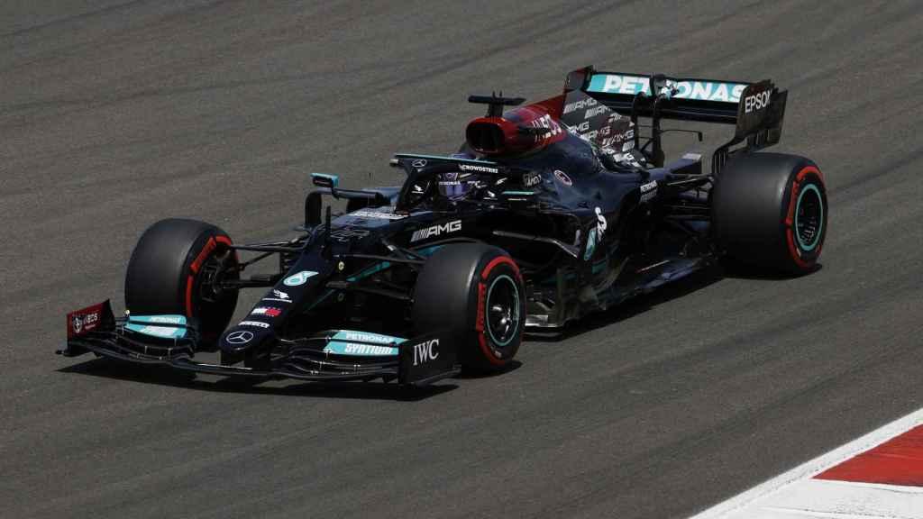 Lewis Hamilton en el Gran Premio de Portugal