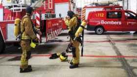 Los bomberos de la Diputación de Alicante