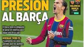 La portada del diario SPORT (02/05/2021)