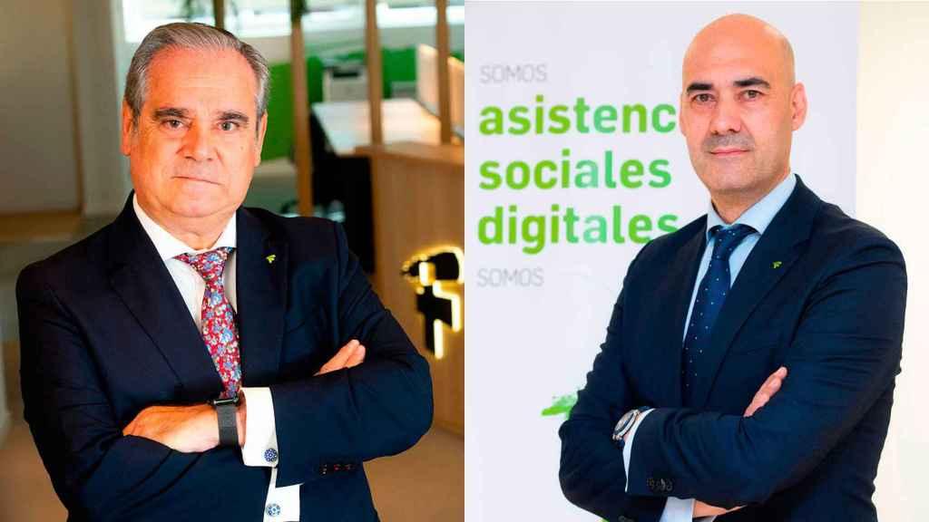 Jesús Aguilar y Sergio Marco, candidatos a presidir el Consejo General de Farmacéuticos.
