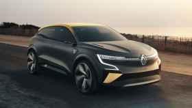 Anticipo del Renault Mégane-E, la versión 100% eléctrica que vendrá limitada a 180 km/h.