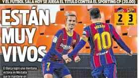 La portada del diario SPORT (03/05/2021)