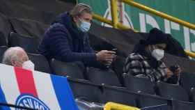 Erling Haaland, en la grada del Signal Iduna Park, el estadio del Borussia Dortmund