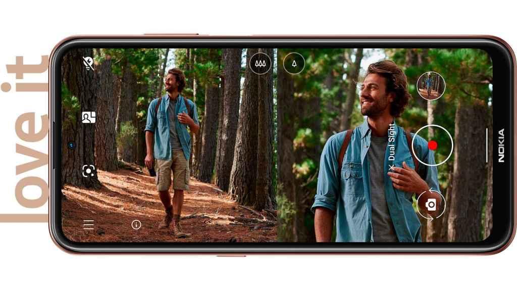 Cámara del Nokia X20