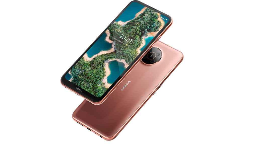 Colores del Nokia X20 en 5G
