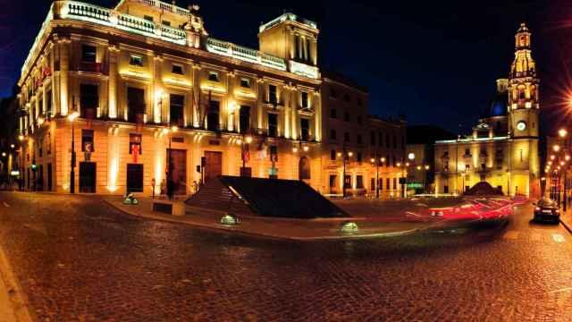 Plaza de Alcoy.
