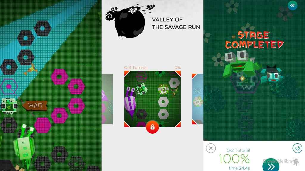 Valley of The Savage Run en Android