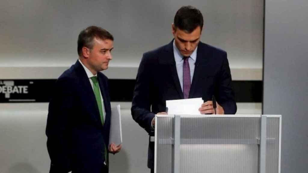 Sánchez e Iván Redondo.