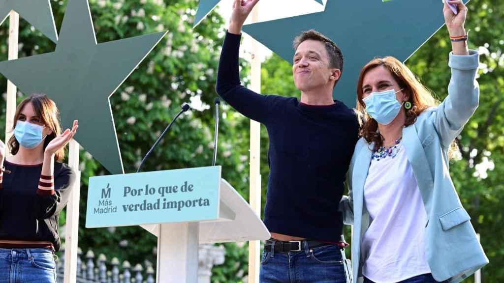 Mónica García y Errejón.