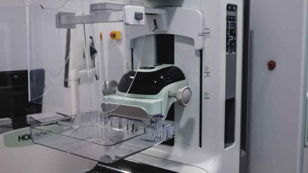 Mamógrafo 3D del hospital IMED Levante de Benidorm.
