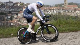 Froome en la crono del Tour de Romandia 2021