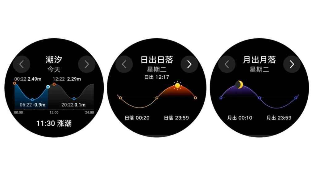 Nuevas funciones de los Huawei Watch GT 2