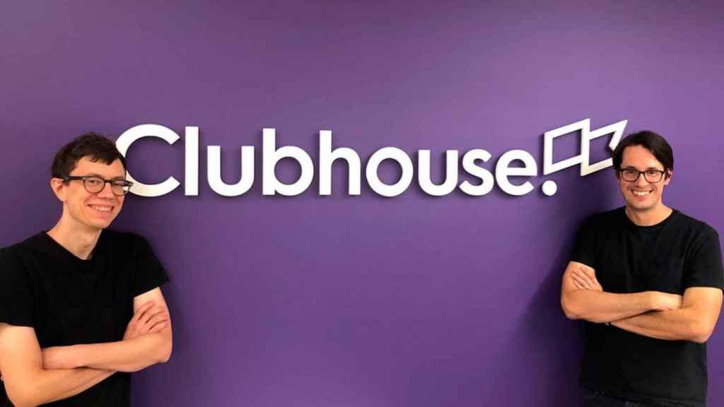 Los fundadores de Clubhouse