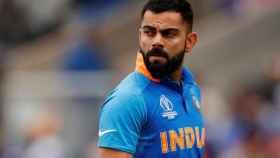Virat Kohli, jugador de críquet indio