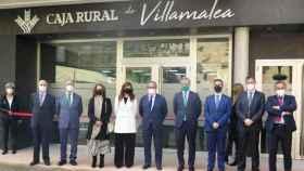 Inauguración de las nuevas instalaciones de Caja Rural de Villamalea