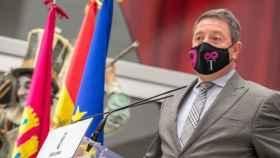 El presidente de Castilla-La Mancha, Emiliano García-Page, en una imagen de este lunes