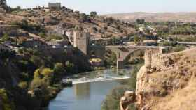 El río Tajo a su paso por Toledo, en una imagen de archivo
