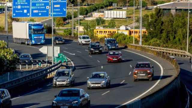 Tráfico en las carreteras. Imagen de archivo de Europa Press