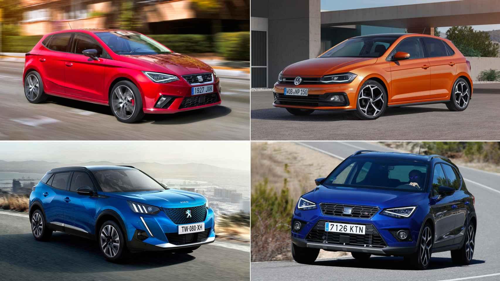Estos son los 10 coches más vendidos en España en el último mes