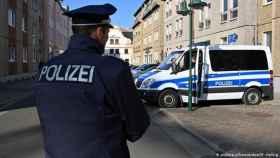 Un agente de la policia alemana.