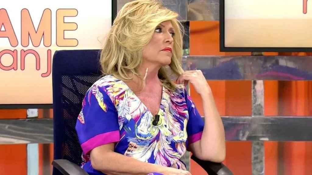 Lydia Lozano anuncia en 'Sálvame' la muerte de Manzanares, fallecido en 2014