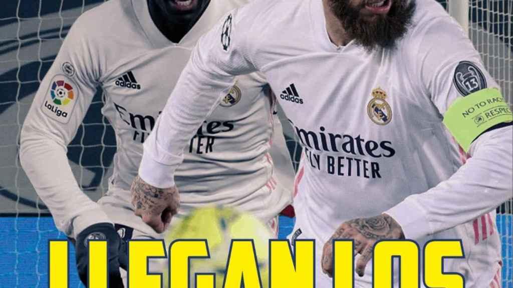 Mendy y Sergio Ramos