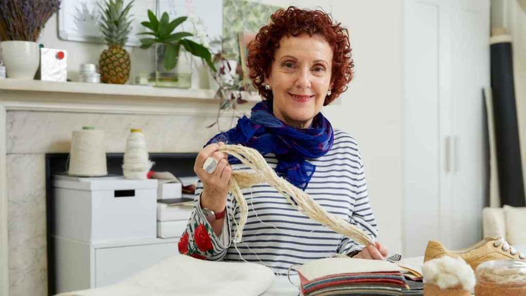 Carmen Hijosa, fundadora de Piñatex y finalista de los premios al inventor del año. Foto: EPO