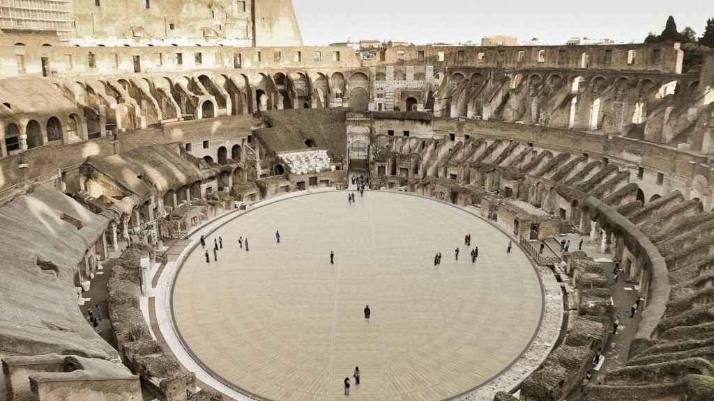 El Coliseo de Roma reconstruirá en 2023 su arena.
