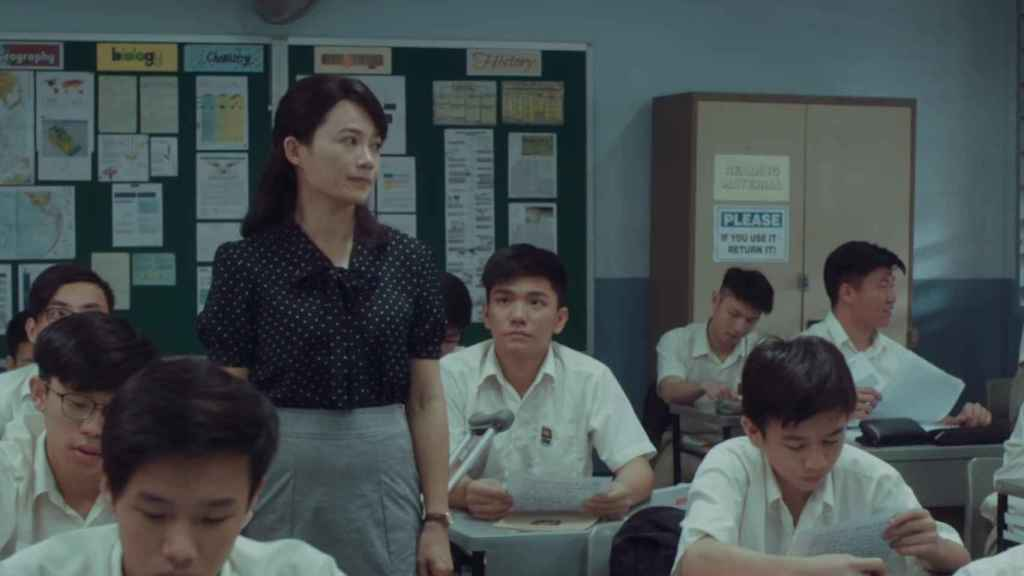 Fotograma de la película Wet Season, de Anthony Chen.
