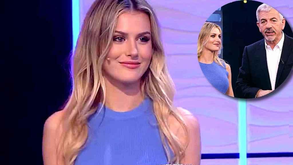 Arianna Aragón, la hijastra de Carlos Sobera, está triunfando en 'El precio justo'.