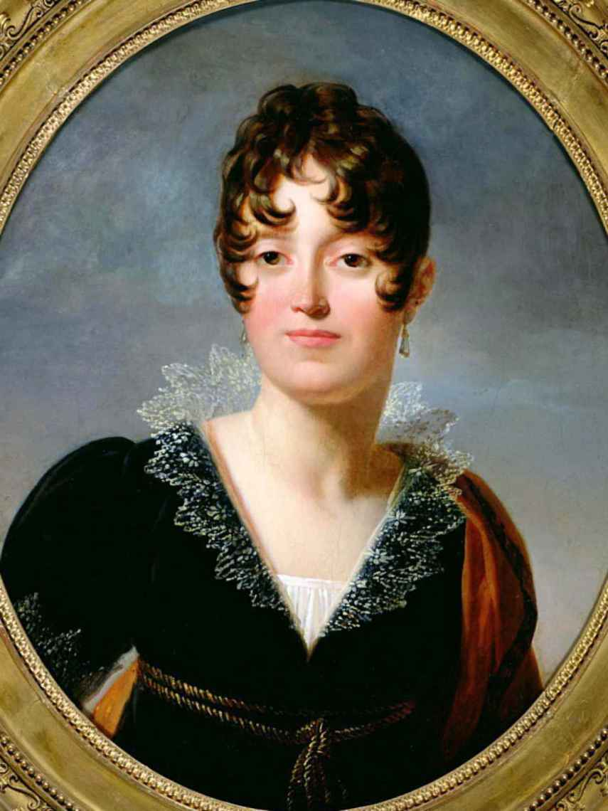 Desirée Clary, la primera amante de Napoleón.